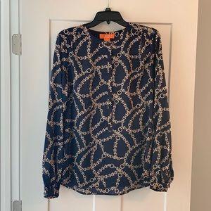 Joe fresh equestrian inspired blouse